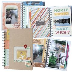 travel scrapbooking mini album