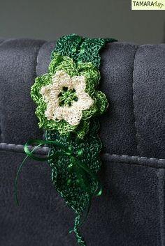 TamaraART: Crocheted headband