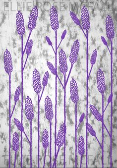 Lavender design, made on Photoshop for my Fm project Lavender, Photoshop, Curtains, Shower, Rose, Drawings, Prints, Projects, Design