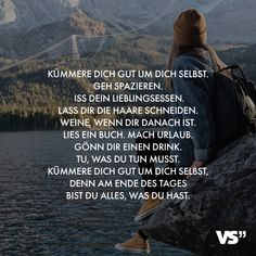 Visual Statements®️ Cuídate mucho, sal a caminar. Come el tuyo Visual Statements®️ Kümmere dich gut um dich selbst. Iss dein Visual Statements®️ Cuídate mucho, sal a caminar. Come tu . Change Is Good Quotes, Good Life Quotes, Happy Quotes, True Quotes, Best Quotes, Motivational Quotes, Inspirational Quotes, Happiness Quotes, Positive Vibes