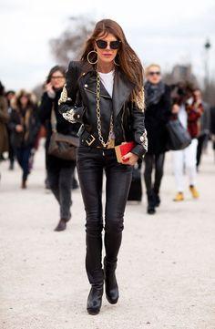 #Street Style - Biker Chic