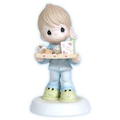Precious Moments I Love You For All You Do Boy Figurine Mother's Day New 114002