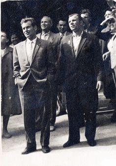 Юрий Гагарин и Герман Титов в Крыму Фотография из семейного архива Юрия Томилова
