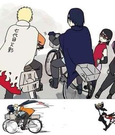 # Naruto # Sasuke # Sarada # Boruto - Best Picture For GIF de amor For Your Taste You are looking for something, and it is going to tell you exactly what you are lookin Naruto Vs Sasuke, Naruto Fan Art, Anime Naruto, Comic Naruto, Naruto Cute, Naruto Shippuden Anime, Haikyuu Anime, Otaku Anime, Anime Meme