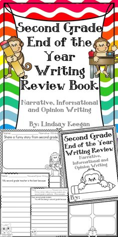 End of the year writing review for second grade