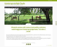 WordPress site agricolarighiclaudio.com uses the Tempera wordpress template
