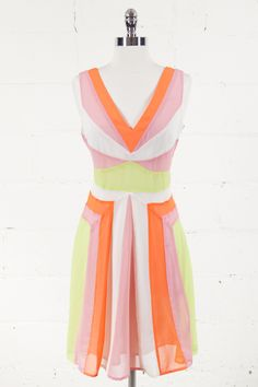 Pretty In Neon Dress