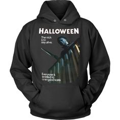 Halloween Michael Myers Stay Alive One Scare Hoodies