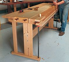 Woodworking Benches Workbench Plans There are loads of useful suggestions for your wood working undertakings at http://www.woodesigner.net
