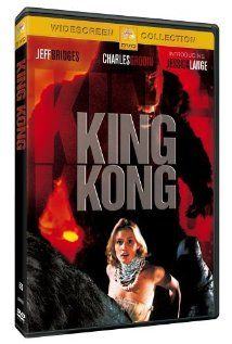 """""""King Kong"""" (1976) w/Jessica Lange and Jeff Bridges, produced by Dino De Laurentis and John Barry's thrilling score.  John Guillermin directed my favorite Kong movie so far."""