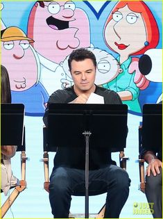 Seth Macfarlane, Cleveland Show, American Dad, Stuff And Thangs, Role Models, The Man, Ted, Mickey Mouse, Spain