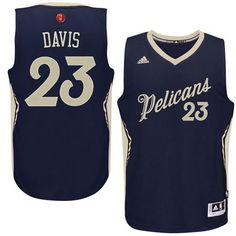 Pelicans  23 Anthony Davis Navy 2015-2016 Christmas Day Stitched NBA Jersey  Nba Uniforms 65c559caa