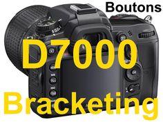 """""""Mode ferme ton manuel 3"""" Nikon d7000/D7100/D7200 en français boutons ar..."""
