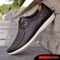 2014 new Best quality Genuine Leather men flat shoes casual shoes Soft men Loafers Sneakers Comfortable Driving Shoes