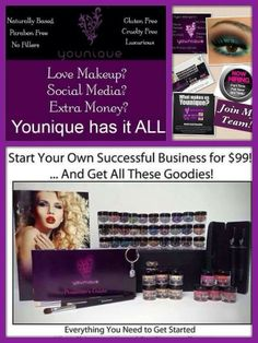 1000 Images About Younique Start Your Own Business On