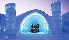 If you prefer to spend your holidays in unusual surroundings then the Ice Hotel can be one of the best places for you. The hotel is located near Kiruna, Sweden and is the first of the ice hotels of the world. The ice hotel is built with solid blocks of ice. One of the most amazing facts about the Ice Hotel is that it only exists between December and April, which means that it melts in summer and has to be constructed each year.