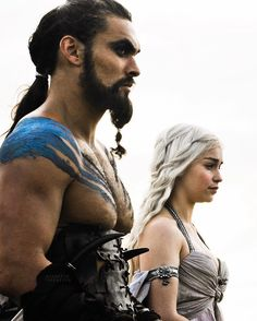 The link for 6.01 is up in my bio! Watch it today because I'll post scenes tomorrow! - Who misses Drogo?  #khaldrogo by daenerystargaryen