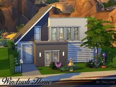 Sims 4 CC's - The Best: WINDRUSH HOME (20X15, NO CC) by Trillyke