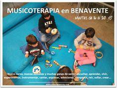 Programa de Musicoterapia en Benavente (Zamora) creado por el Ayuntamiento de Benavente.