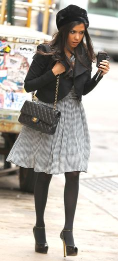 Kourtney Kardashians outfit