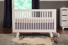Hudson 3-in-1 Convertible Crib with Toddler Rail | Babyletto $379. 54 x 29.75 x 35""