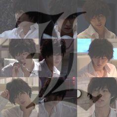 Kento Yamazaki Death Note, Drama Stage, L Death Note, L Lawliet, Drama Series, Kawaii, Manga Anime, Notes, Actors