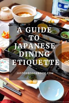 A guide to Japanese Dining Etiquette Guide - Planning to visit Japan, or simply dining with Japanese friends?Here's a basic guide to Japanese table manners. #japaneseetiquette #japanculture | JustOneCookbook.com Japanese Table, Japanese Food, Japanese Recipes, Japanese Culture, Top Recipes, Asian Recipes, Asian Foods, Japanese Etiquette, Osaka