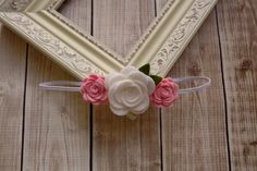 Baby Felt Flower Headband-Baby Flower Headband-Baby by Lillianas