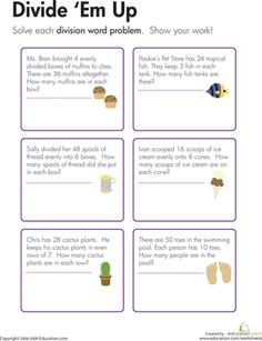 Great site with lots of word problems for multiple standards (and ...