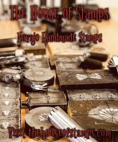 House Of Stamps | Traditional Hand Made Stamps for Jewelry Making