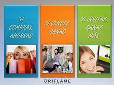 Las 3 maneras de ganar en Oriflame Mexico, si te interesa escríbeme a ana.rdzch@yahoo.com