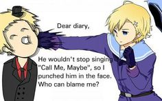 Norway's Diary. I agree with you Norway.