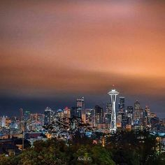 It's OK to stare...#OutlineTheSky #RepYourCity #SeattleSkyline #Seattle Photo: @andy.c.photography