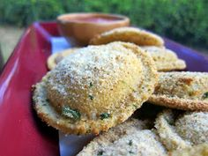 Oven Toasted Ravioli's: Super Yum! Must make again! I used 3 eggs, 3 ...