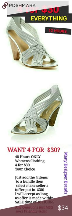"""Donald J Pliner Royce Silver Snake Sandles Size 9 Donald J Pliner Royce Silver Snake Sandles Size 9 Strappy style and Artful wedge heels. 3 5"""" wooden wedge some scuffing in preowned good condition Donald J. Pliner Shoes Heels"""