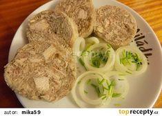 Kuřecí tlačenka recept - TopRecepty.cz Mashed Potatoes, Meat, Chicken, Ethnic Recipes, Food, Whipped Potatoes, Smash Potatoes, Essen, Meals