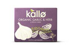 Organic Garlic and herb stock cubes