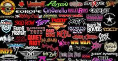 Can You Name These 80's Hair Metal Bands?