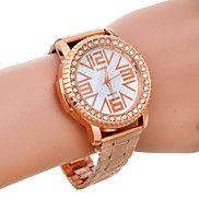 Unisex's Fashion Rhinestone Big Number Dial Ros... – USD $ 10.99 Unisex Fashion, Mens Fashion, Watches Online, Cool Watches, Quartz Watch, Numbers, Rose Gold, Big, Unique
