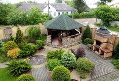 Outdoor Spaces, Outdoor Decor, Backyard, Patio, Gazebo, Garden Design, Outdoor Furniture Sets, Outdoor Structures, Landscape