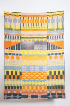 Gunta Wool Blanket by Sophie Probst & Michele Rondelli – ZigZagZurich