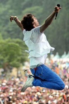 Mika jumping - Fujirock