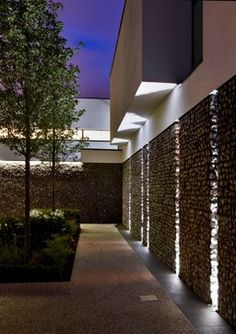 New Build House-Berkshire - lighting -  Designed by Gregory Phillips Architects.