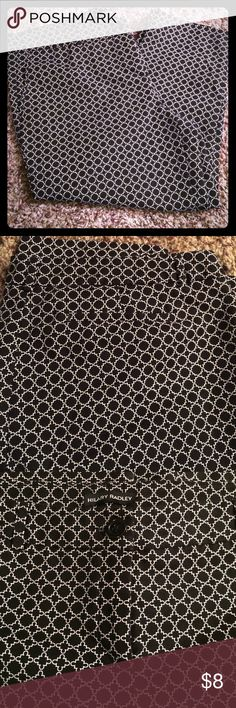 Hilary Radley capri pants Black and white print Capri pants size 16. Stretch- Slim Leg Hilary Radley Pants Capris