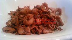 Recopilatorio de recetas thermomix: Calamares en salsa thermomix