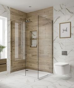 Shower room ideas – looks and layouts for a bathroom focused on a shower