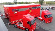 Buy Ferrari's F1 motorhomes and start your own Scuderia [w/videos] - Autoblog