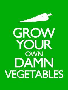 ... vegetables.