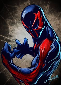 by glencanlas on DeviantArt Spiderman Drawing, Spiderman Art, Amazing Spiderman, Marvel Comic Universe, Marvel Dc Comics, Marvel Heroes, Batman Beyond, Silver Age Comics, Iron Spider