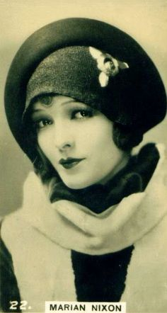Marian Nixon - 1920's. After Bebe Daniels death Ben Lyon Married Marian Nixon in 1974.